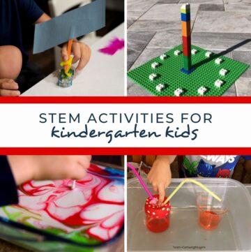 stem activities for kindergarten